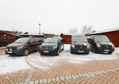 Högklassig bilpark